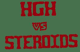 HGH Vs Steroids