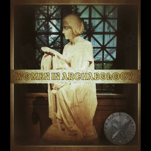 APN Women in Archaeology Podcast Logo