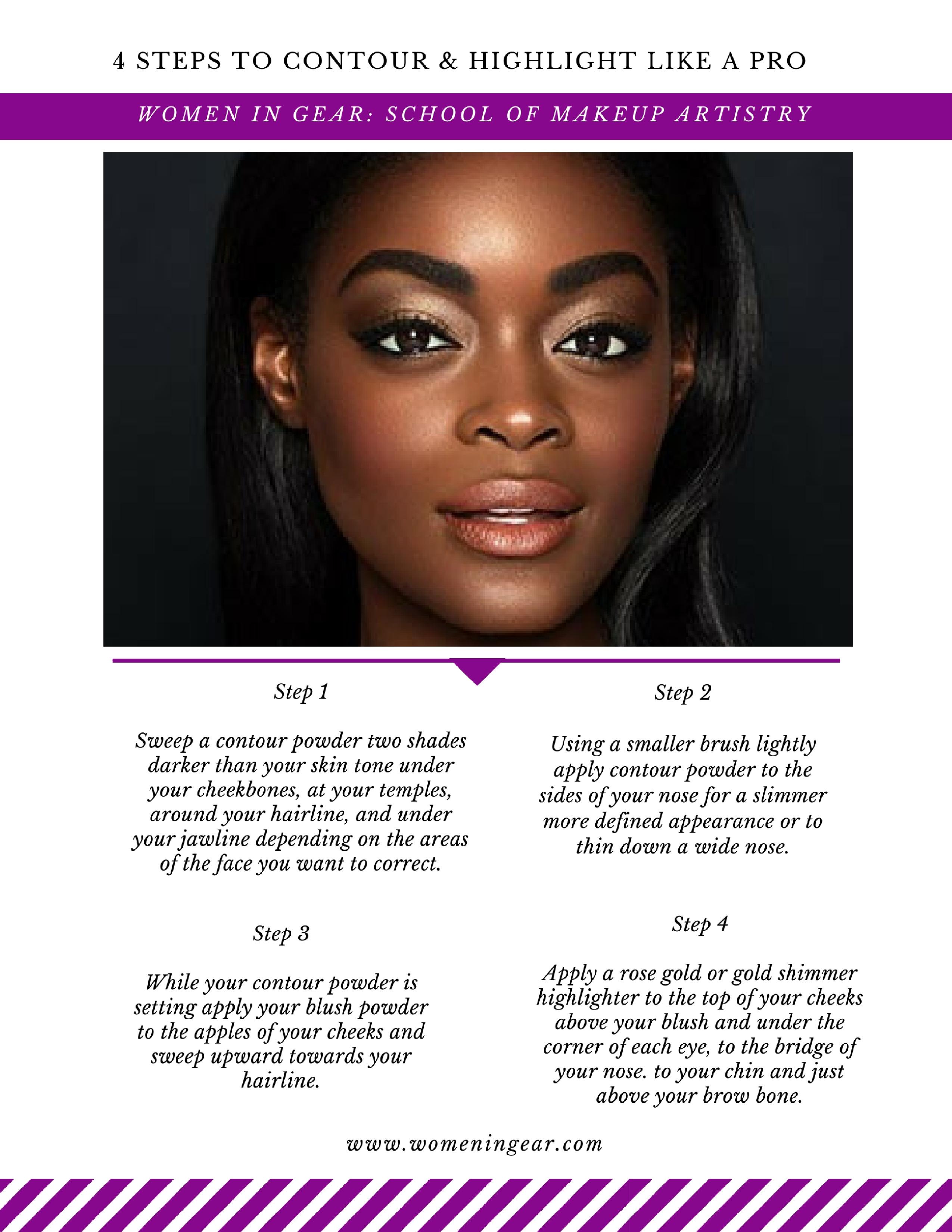 4-steps-to-contour-highlight
