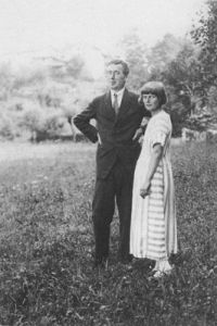 Emmy Hennings and Hugo Ball