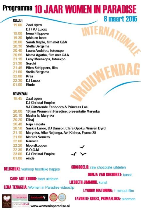 Programma Flyer 2015