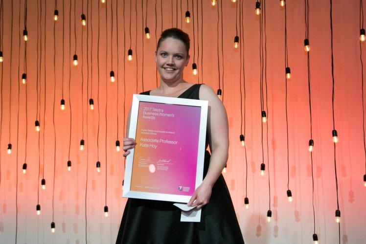 Kate Hoy_TelstraBizAwards