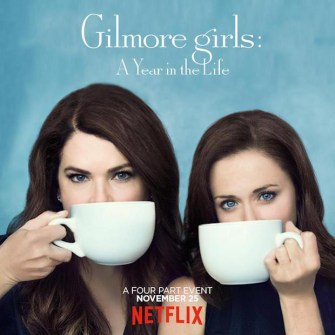 The poster for Gilmore Girls
