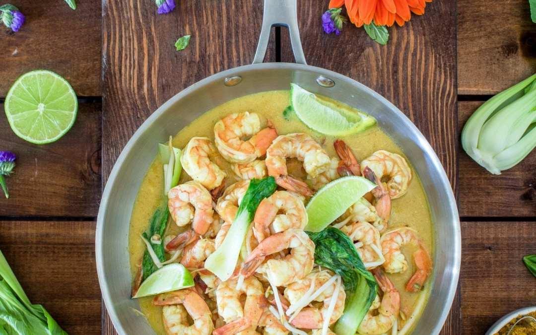 Healthy Recipe: Shrimp Scampi