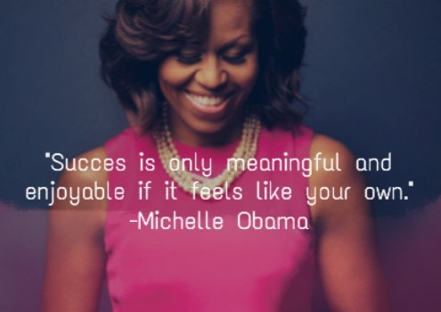 12 Inspirational Michelle Obama quotes to set life goals