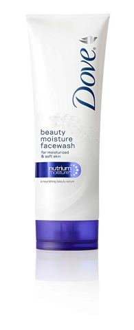 . Dove Beauty Moisture face wash