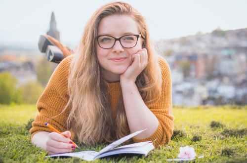 child starts preparing for college