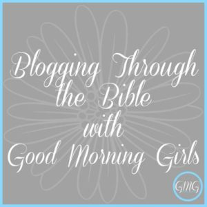 Blogging through bible with GMG button