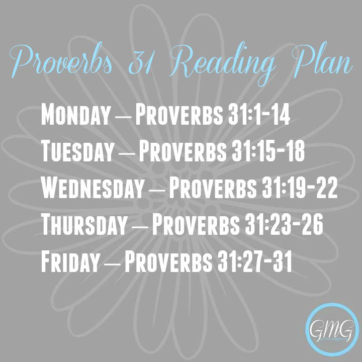 Good Morning Girls Resources {In-depth Study of Proverbs