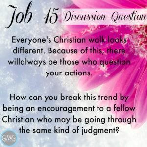 Job 15a