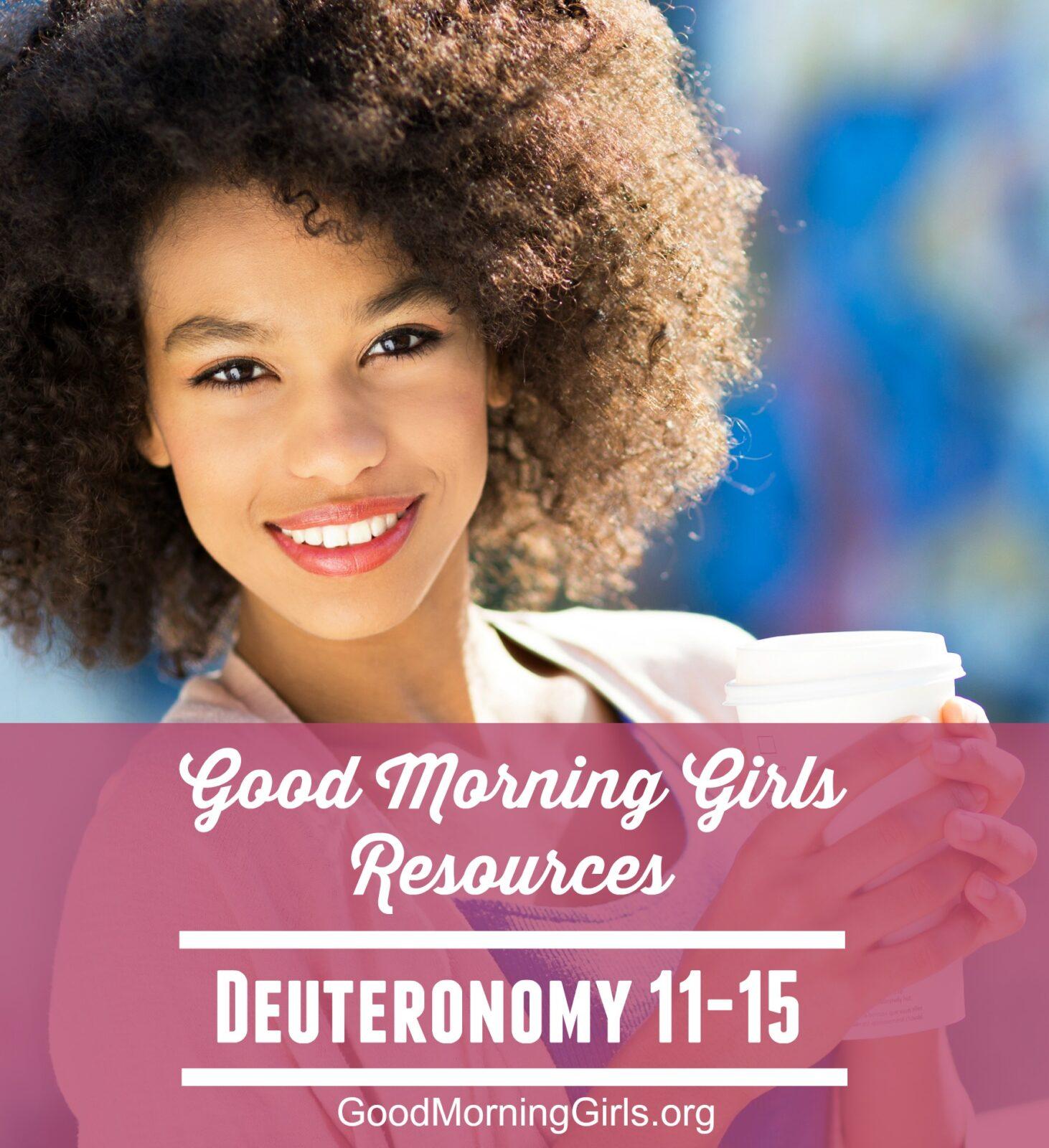 Deuteronomy 11-15