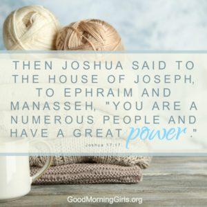 Joshua 17