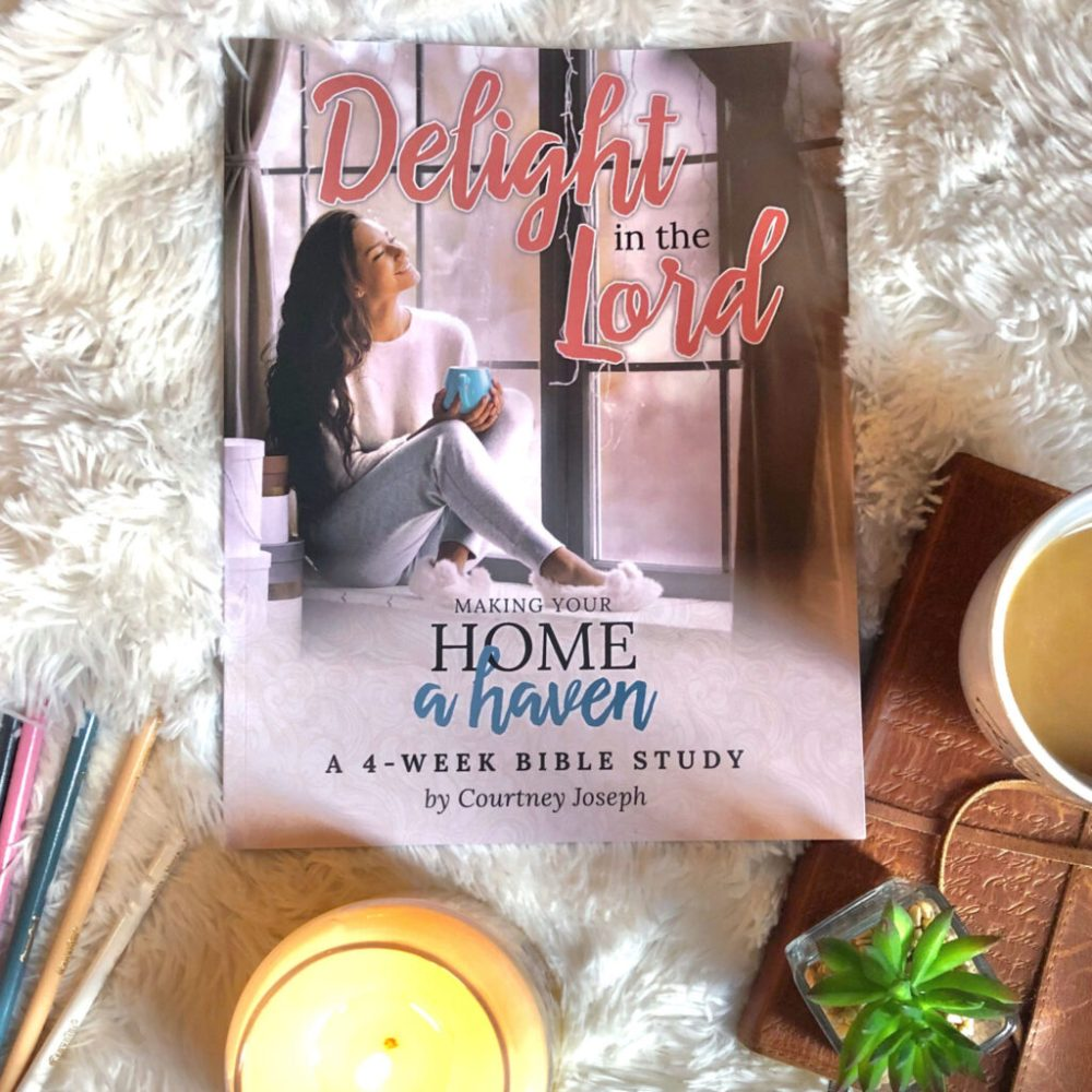 Join me in learning to delight in the Lord as we make our homes a haven of rest, gratitude, and rest for ourselves and our families. #WomenLivingWell #makingyourhomeahaven ##WomensBibleStudy #GoodMorningGirls