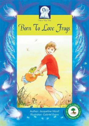 Born to love frogs Brumby-1 (Small)