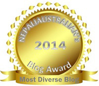 """Nepali Chori was Honored as """"Most Diverse Blog"""""""