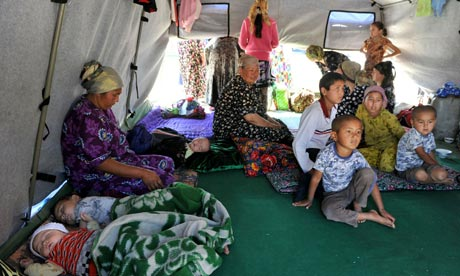 Families in Kyrgyzstan fear resurgent violence and the onset of winter