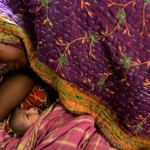 Mother and baby - India