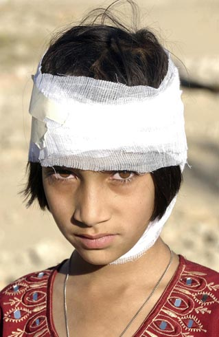 Pakistan Earthquake Victim