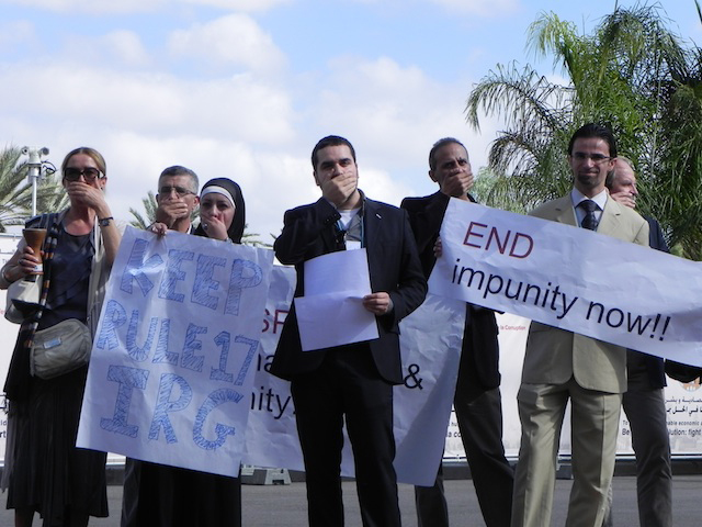 NGOs protest United Nations exclusion at conference on corruption