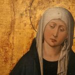 Our Lady of Sorrows from c. 1455 triptych