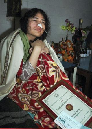 INDIA: Human rights leader Sharmila brings impact to cause through hunger