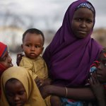 Somali refugee girls