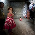 IDP - Internally Displaced Persons family suffer from poverty in the town of Turaq, southern Iraq