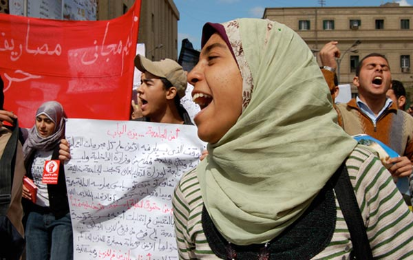 Where are the women? Egypt's revolution one year on