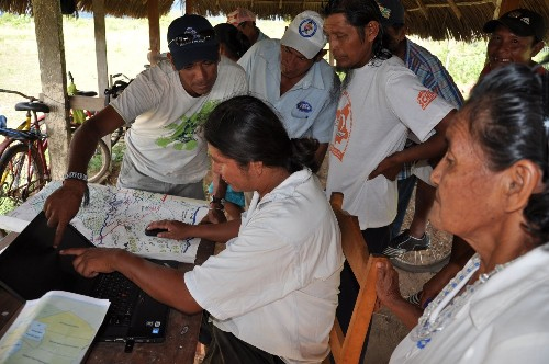 South America: Indigenous leaders Guyana use new GPS system to save lands