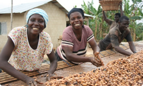 Divine Chocolate fairtrade commitment empowers women entrepreneurs