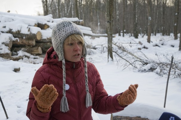 Russian woman honored in fight to save forest