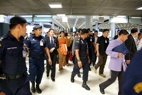 Nobel Peace Laureate Suu Kyi sets hero's pace with travel to Thailand