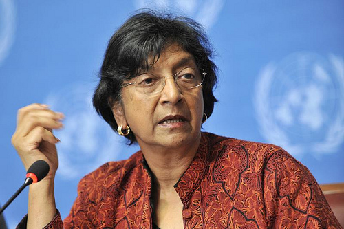 United Nations Navi Pillay calls for investigation of Syrian 'crimes against humanity'