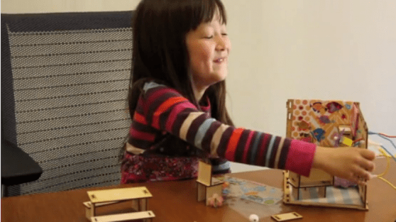 Three female engineers build toys to inspire young girls to love science