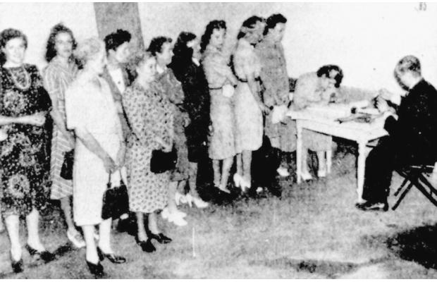 Quebec, 1944: Finally, women are allowed to vote