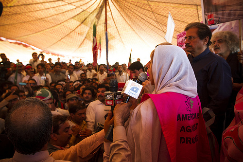 U.S. Code Pink delegation in Pakistan plans hunger fast in Islamabad