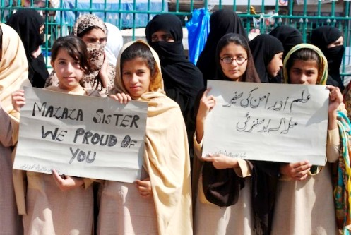 As arrests are made in Malala Yousufzai case human rights prevail