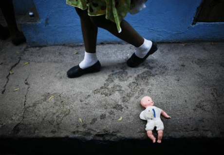 HAITI: Exploited orphan girl 'restaveks' can face years of sex-trafficking
