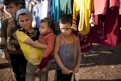 Those displaced in Syria suffer in camps under crowded crisis