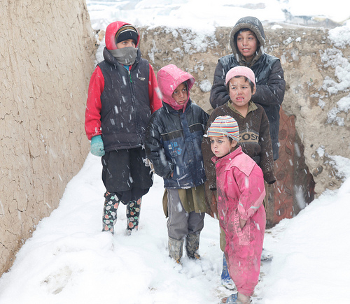 AFGHANISTAN: Frigid temperatures cause loss of children's lives in refugee camp