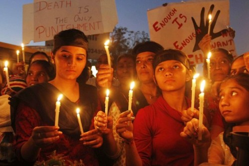 Private gang rape trial brings issues of death penalty to India society