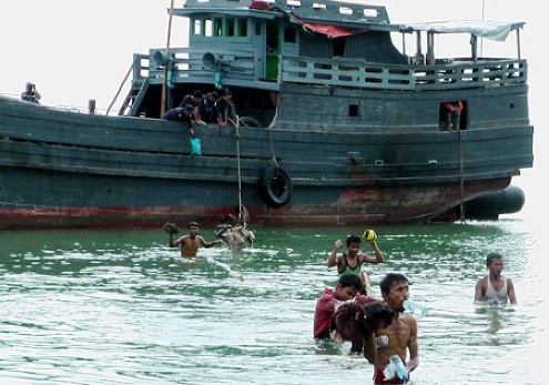 "UN Refugee Agency says displaced Rohingya boat people need ""sustainable"" aid"