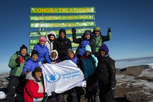TANZANIA: Women bring climbing dreams to fruition at Mount Kilimanjaro