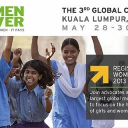 Champions for Youth to Gather in Malaysia for Women Deliver 2013 Conference
