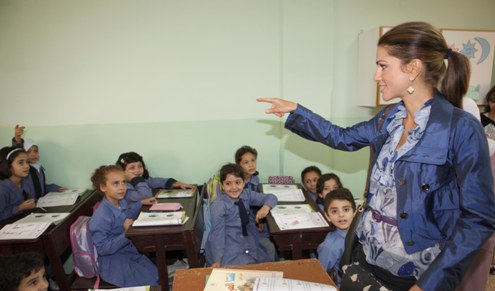 Overflowing classrooms continue to battle illiteracy in Jordan