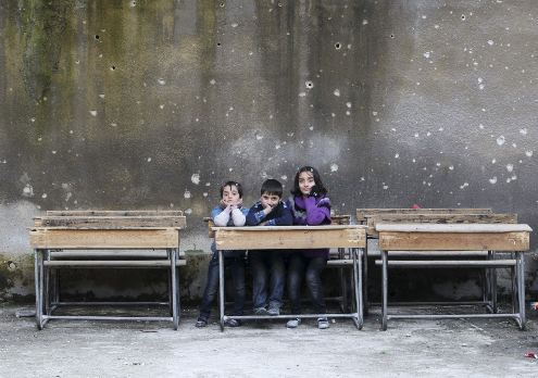School children face heightened dangers as Syrian conflict escalates