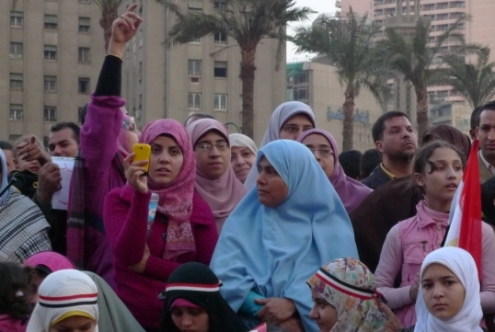 As Egypt cracks down on freedom of expression one women speaks out