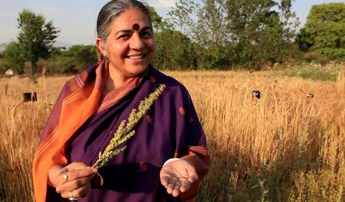 INDIA: Ms. Vandana Shiva's world mission – Biodiversity & seed sovereignty