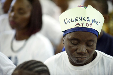 When violence against South African women 'seems normal', crisis is at hand