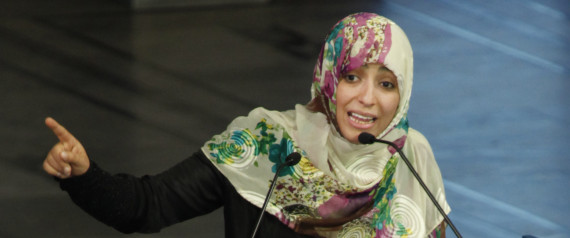 Tawakkol Karman, First Arab Woman Nobel Peace Prize Winner, Gives Away Her $500,000 Award
